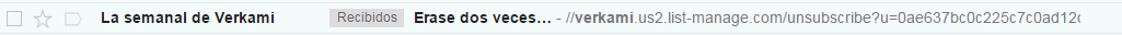 Booking asuntos email marketing