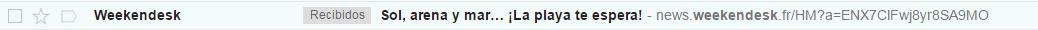Weekendesk asuntos email marketing