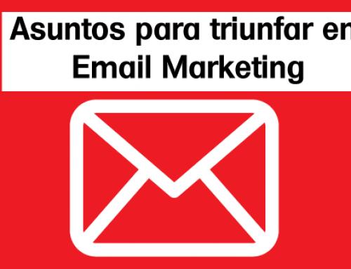 5 tipos de asuntos de email
