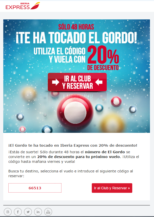iberia-email-marketing-navidad-ofertas