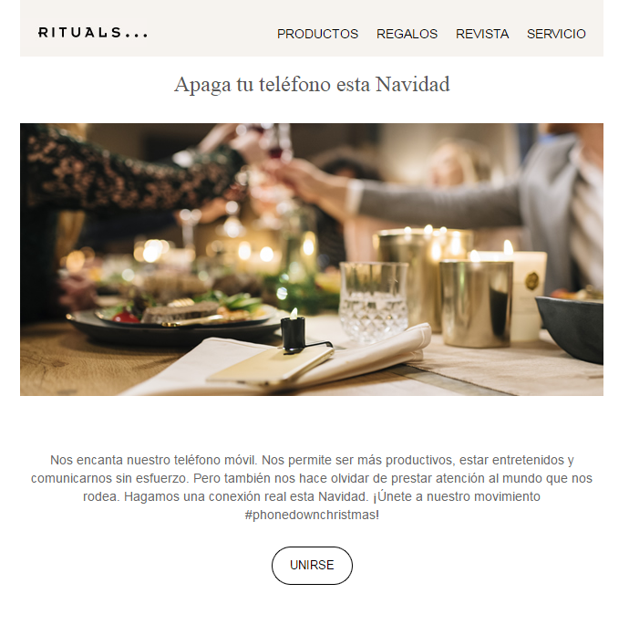 rituals-cosmetics-email-marketing-navidad
