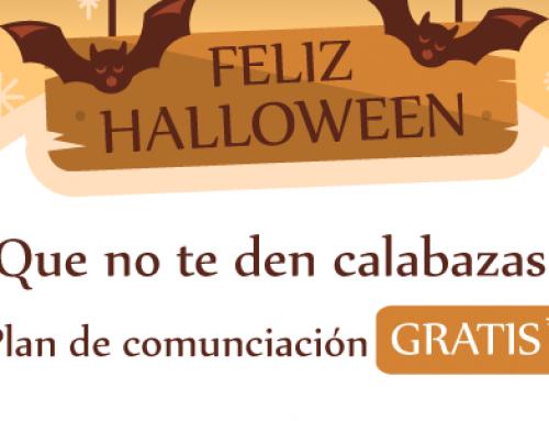Plan de Comunicación en Redes Sociales Gratis: promo Halloween