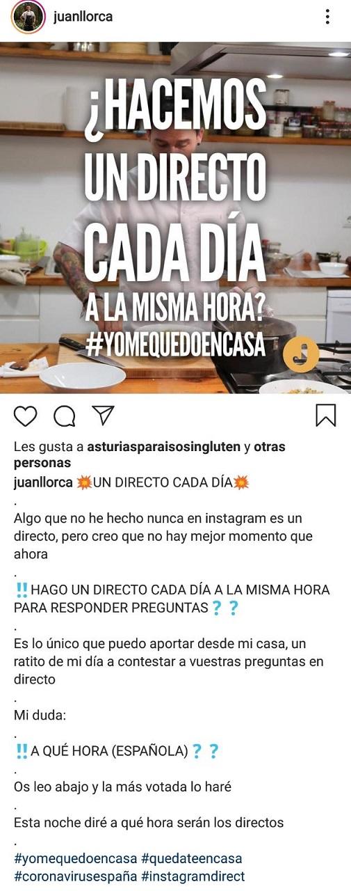 Juan Llorca crisis sanitaria